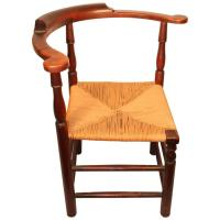 18th Century New England Roundabout Chair For Sale at 1stdibs