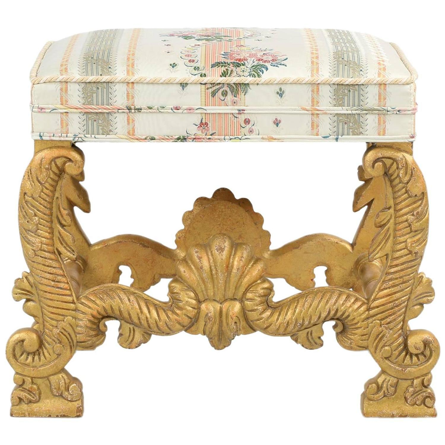 minton spidell chairs stannah chair lift cost empire style carved giltwood foot stool