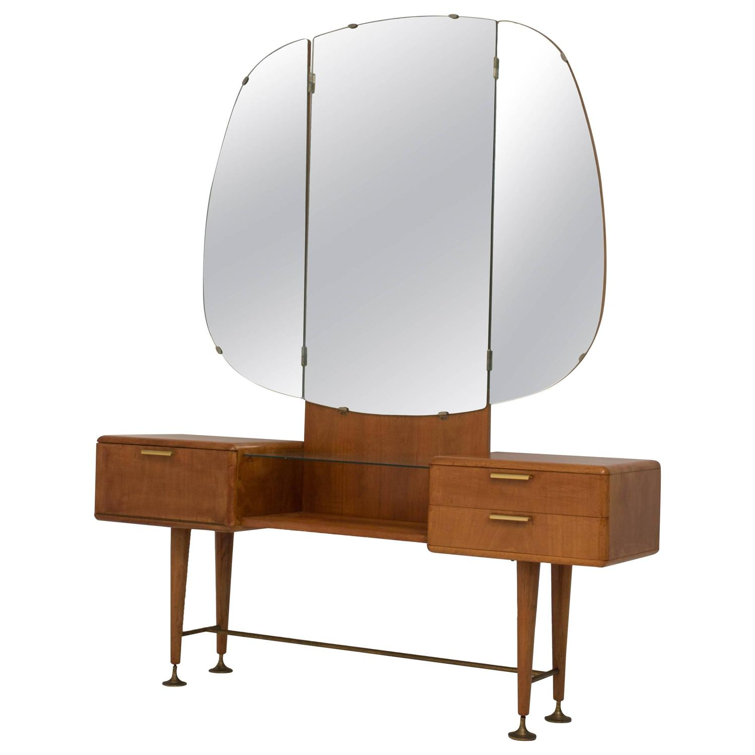 Modern Vanity Chair Rare Mid Century Modern Vanity Or Dressing Table By A A