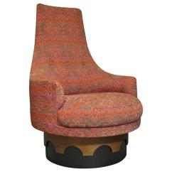 Swivel Chair High Back Pottery Barn Manhattan Review Adrian Pearsall At 1stdibs