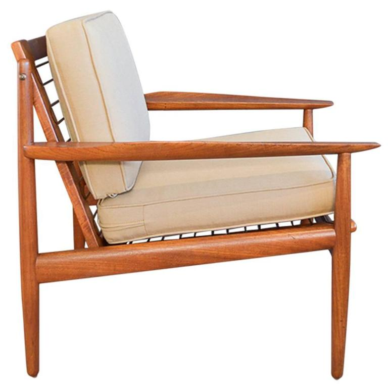 teak lounge chair tables and chairs buffalo ny arne vodder for glostrup sale at 1stdibs