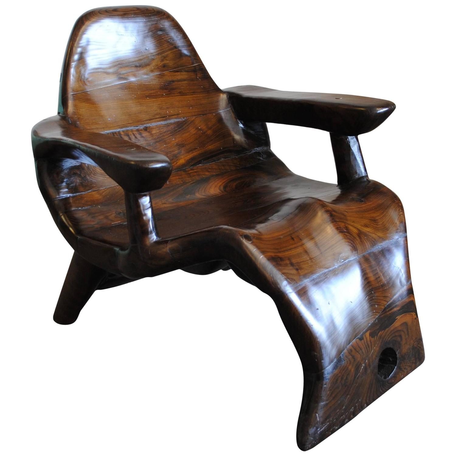 wood lounge chairs customized director chair vintage curved style of alexandre noll