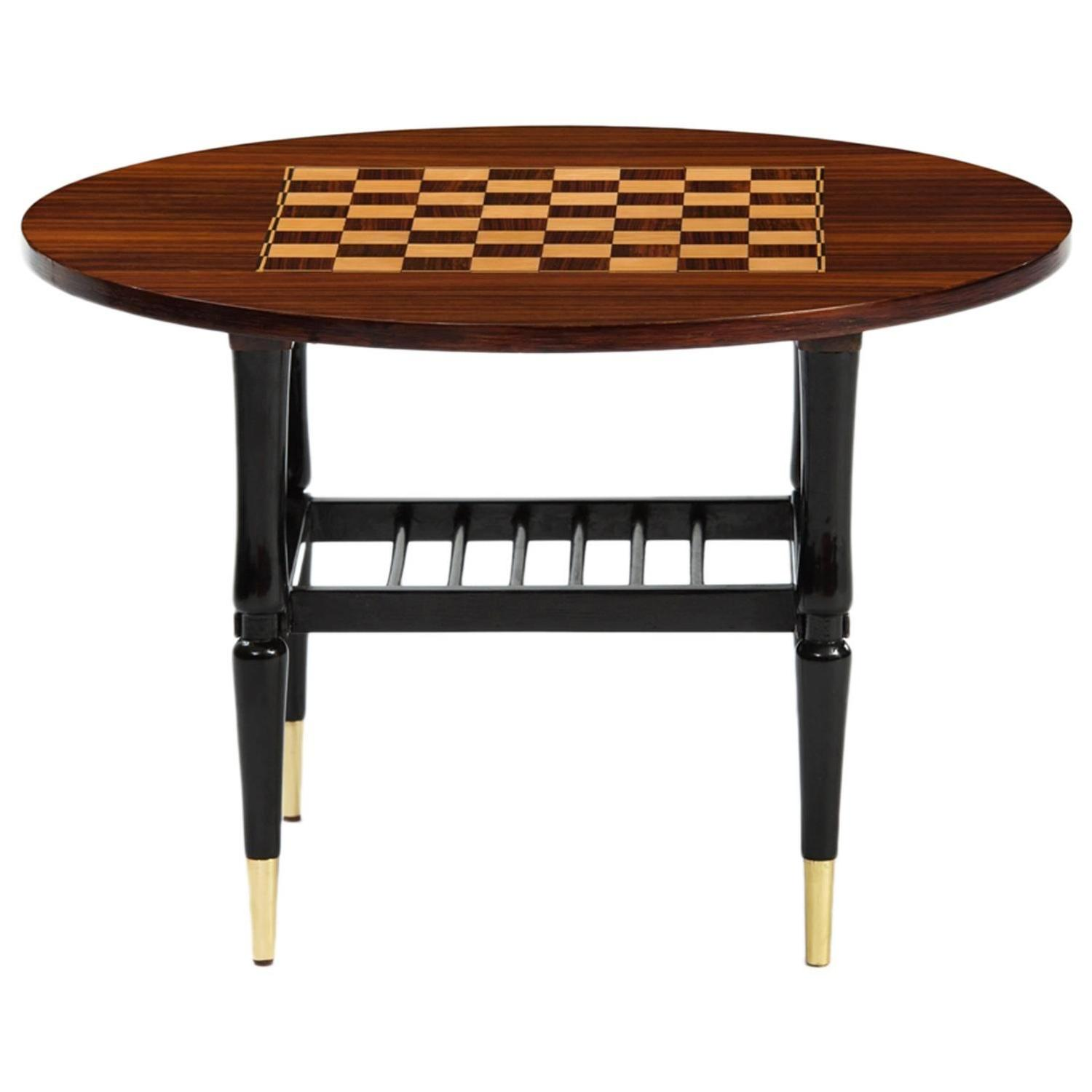 chess table and chairs high chair for dolls italian side at 1stdibs