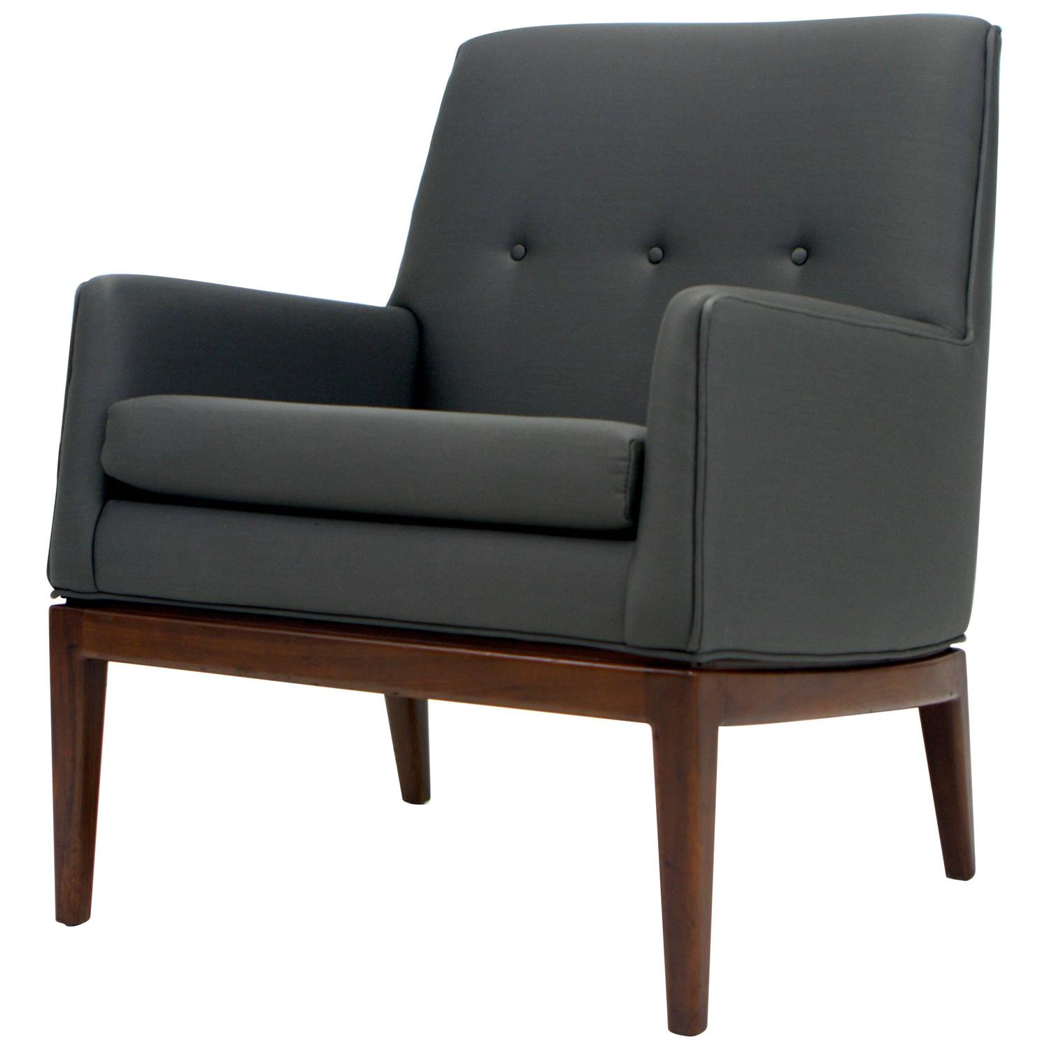 Petite Chairs Jens Risom Petite Lounge Chair For Sale At 1stdibs