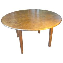 Round Card Table And Chairs Adirondack Patio Chair At 1stdibs
