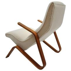 Saarinen Grasshopper Lounge Chair Old Wooden Desk On Wheels Early Eero For Knoll Sale