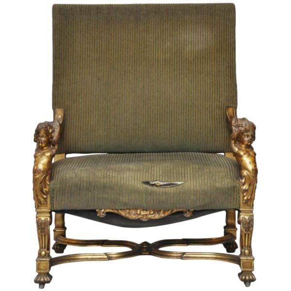 Louis XIV Style Chair