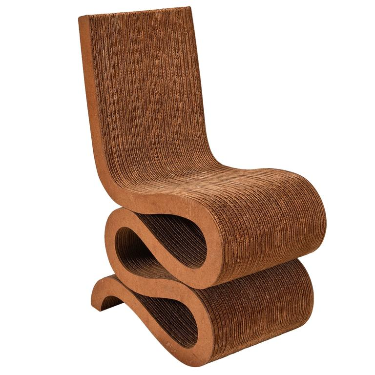 Wiggle Chair by Frank O Gehry Special Edition for