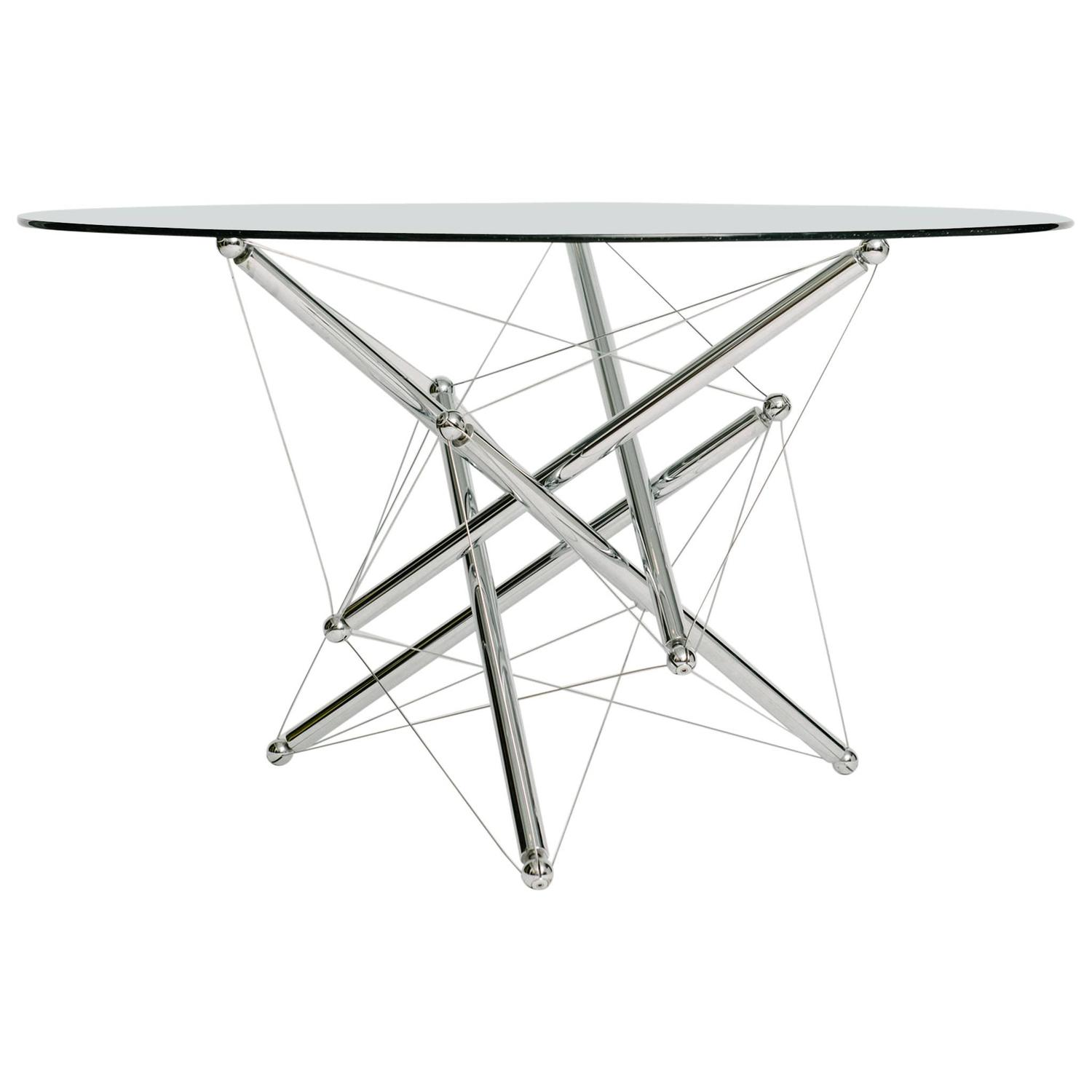 Dynamic Tensegrity 714 Dining Table Base By Theodore