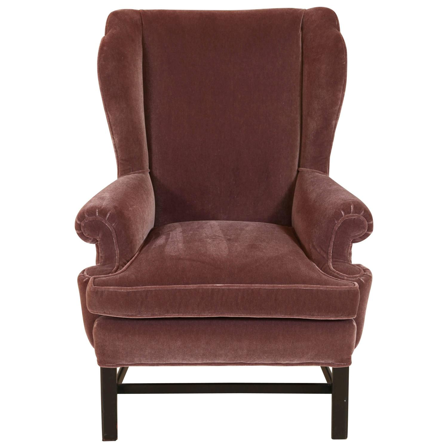 French Club Chair French Style Mohair Club Chair For Sale At 1stdibs