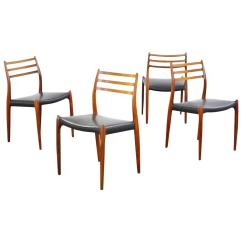 Danish Modern Dining Chair Hammock Stands Diy Rosewood Chairs By Niels O Moller No