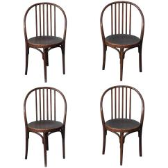 Bistro Style Dining Chairs Ak Racer Gaming Chair Set Of Four High Bentwood Jacob And