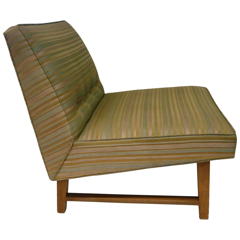 modern slipper chair cover rental shreveport la mid century american single dunbar by