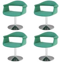 Six 'Captain's' Swivel Chairs by Eero Aarnio for Asko For ...