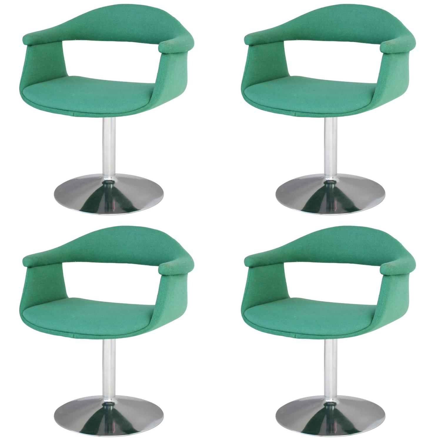 Six Captains Swivel Chairs by Eero Aarnio for Asko For