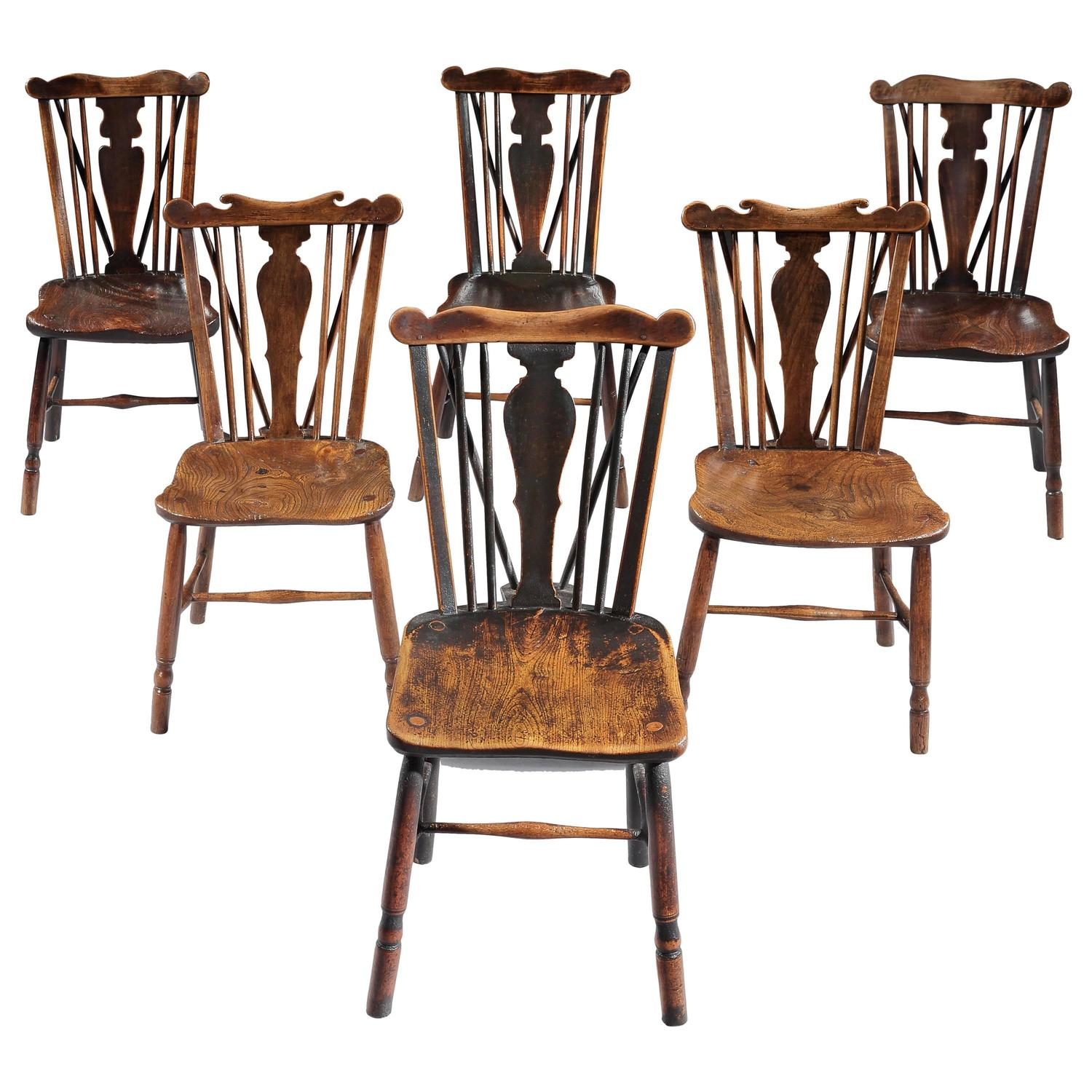 comb back windsor chair white wooden folding chairs for weddings 2 set of six early 19th century