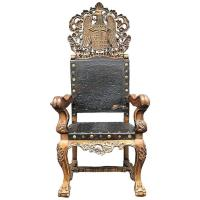 Spanish Colonial Chair For Sale at 1stdibs