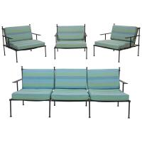 Outdoor Vintage Patio Set, 1970s at 1stdibs