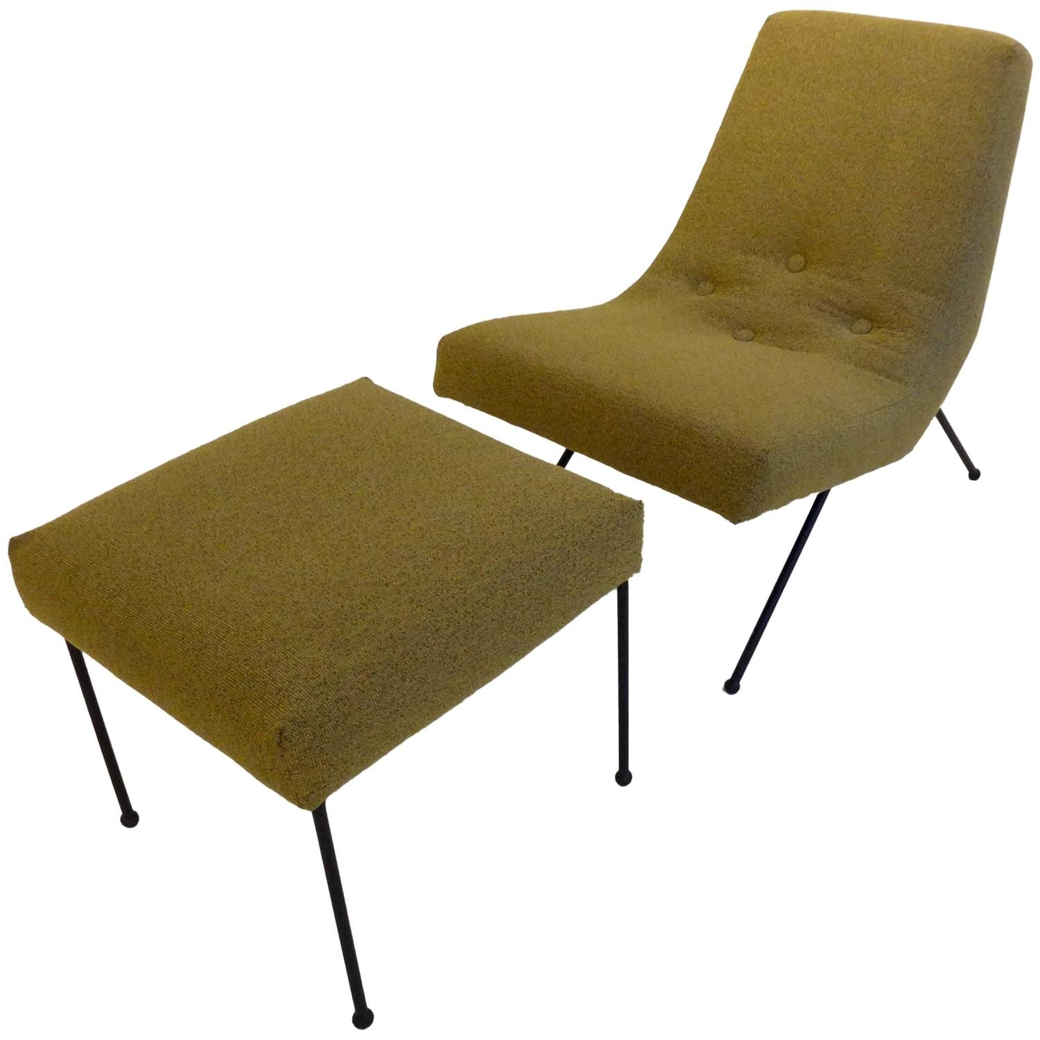 adrian pearsall lounge chair desk chairs cheap with ottoman for sale at 1stdibs