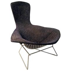 Bertoia Style Chair White Office Black Friday Harry Bird For Sale At 1stdibs