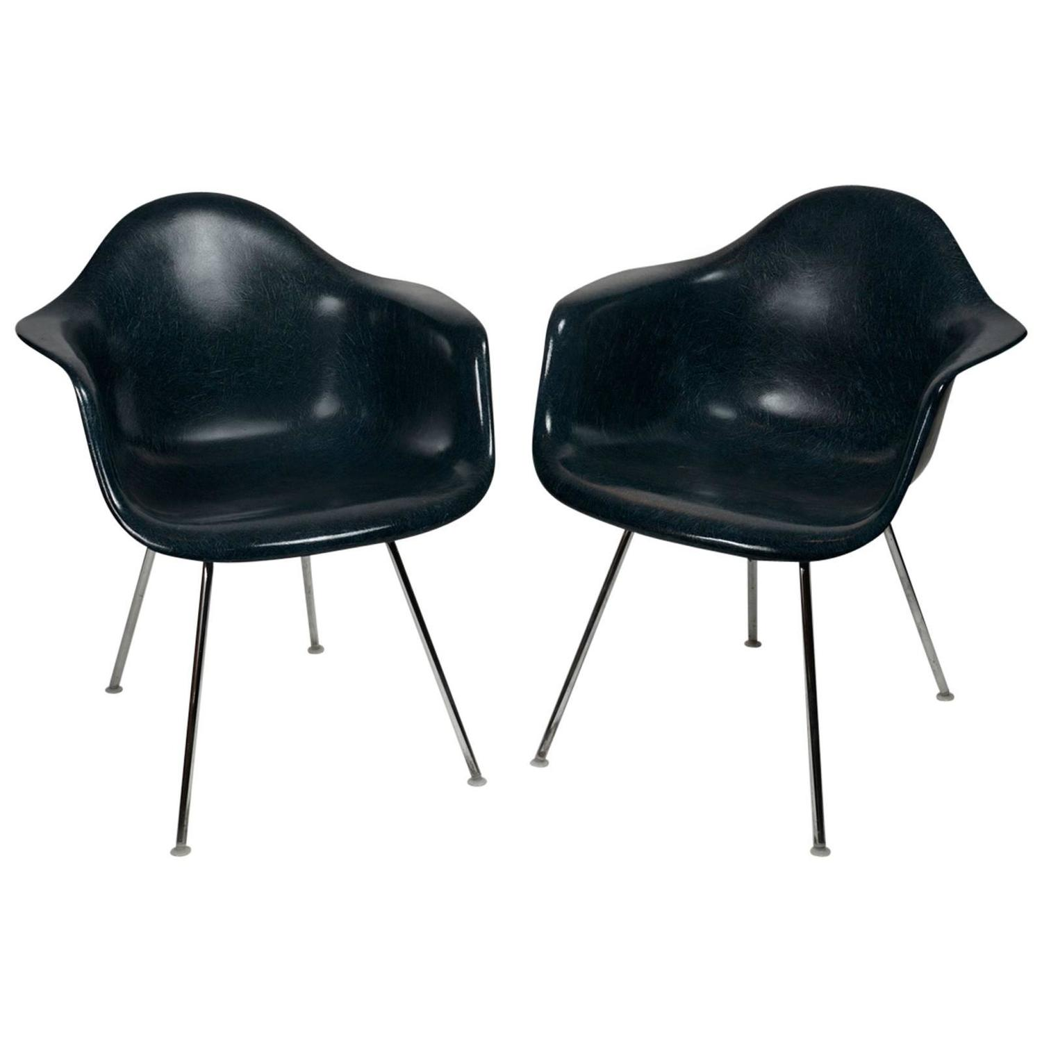 herman miller chairs seattle chrome and leather chair pair of world 39s fair at 1stdibs