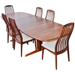 Skovby Rosewood Dining Chairs Big Man Zero Gravity Chair Danish Set By At 1stdibs