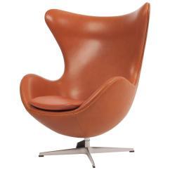 Jacobsen Egg Chair Leather Ikea Preben Covers Arne In Walnut Elegance Soft