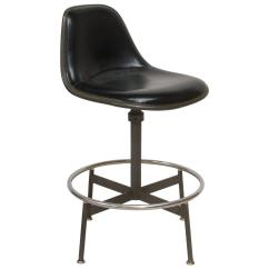 Modern Drafting Chair Louis 15 Dining Chairs Early Eames La Fonda Stool 1961 At 1stdibs