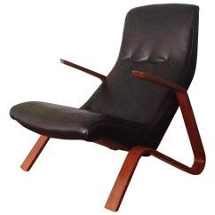 Saarinen Grasshopper Lounge Chair Hon High Back Executive Eero Knoll 1947 At 1stdibs