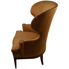 Barrel Back Chair Fold Up Chairs Costco Stylish Wing At 1stdibs