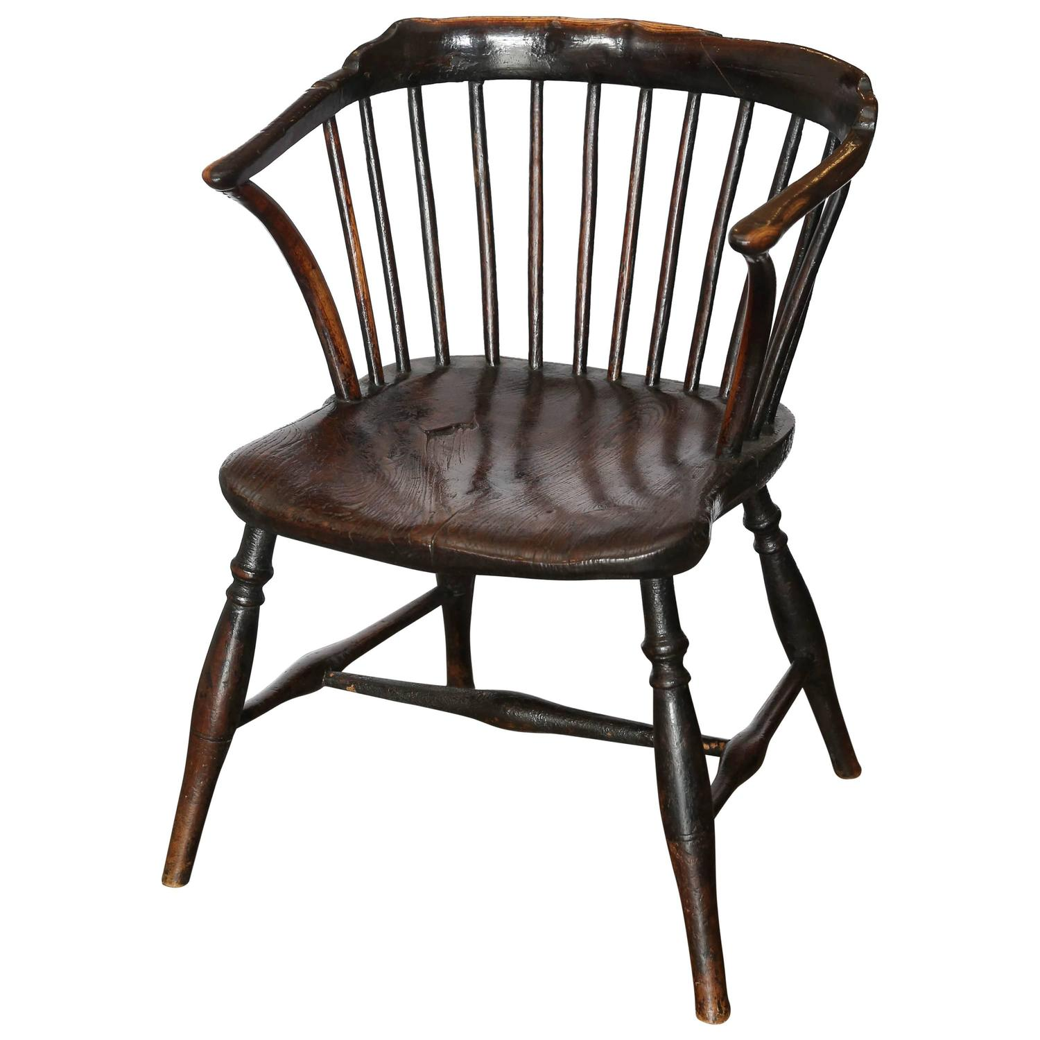 antique windsor chair identification wooden desk chairs without wheels 19th century for sale at 1stdibs