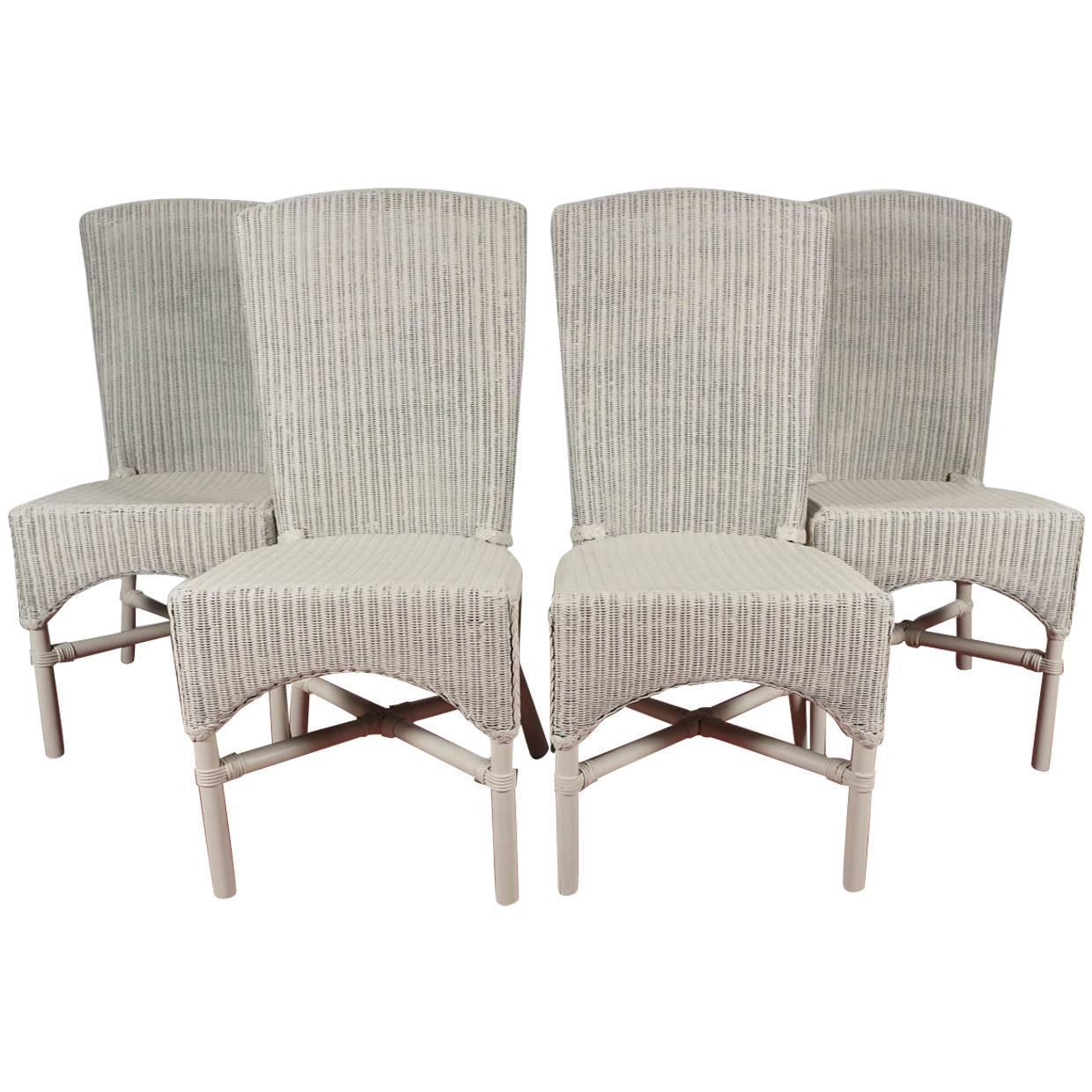 wicker dining chair frank lloyd wright six vintage loom chairs for sale at