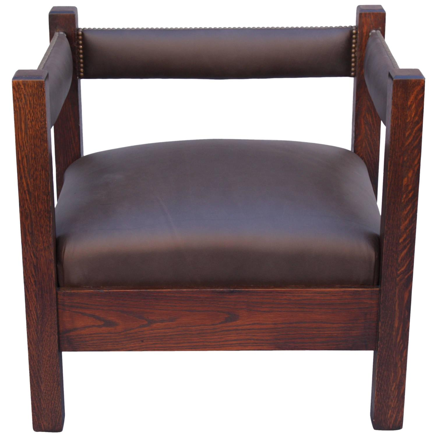mission chairs for sale learning chair fisher price antique arts and crafts cube at 1stdibs