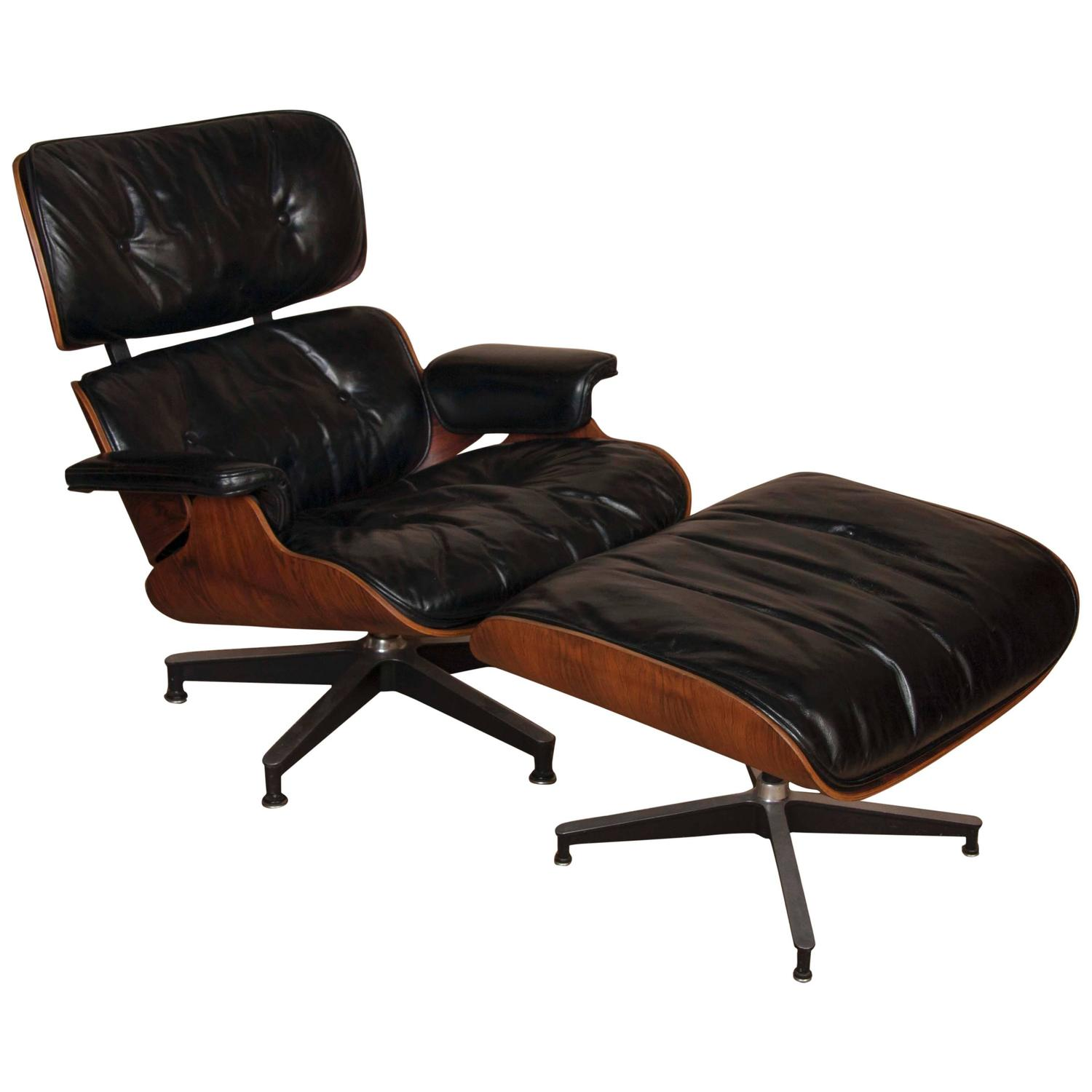 Charles Eames Lounge Chair Charles And Ray Eames Lounge Chair And Ottoman At 1stdibs