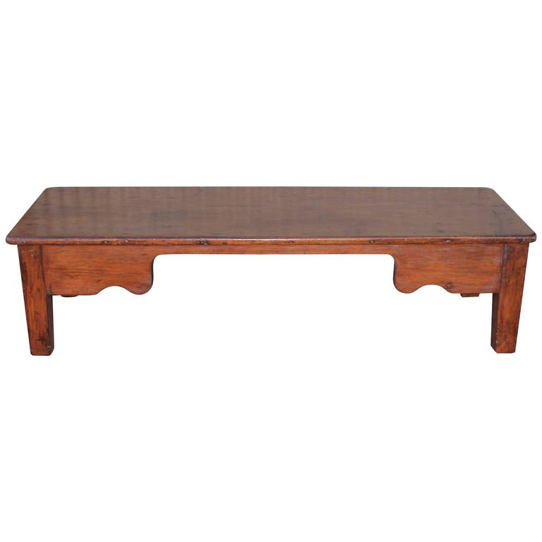 19th Century Monumental FarmCoffee Table From