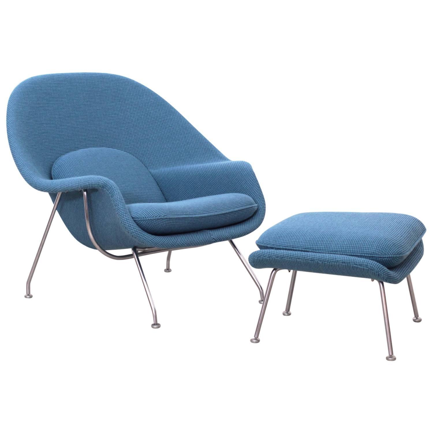 knoll saarinen chair wine barrel plans eero womb by in new cato fabric at