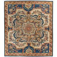 French Aubusson Carpet, Louis XVI Style, circa 1920 at 1stdibs