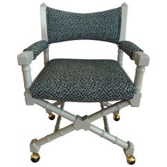 Bamboo Directors Chairs Wedding Chair Covers For Sale In Ireland Mid Century Faux Director 39s At 1stdibs
