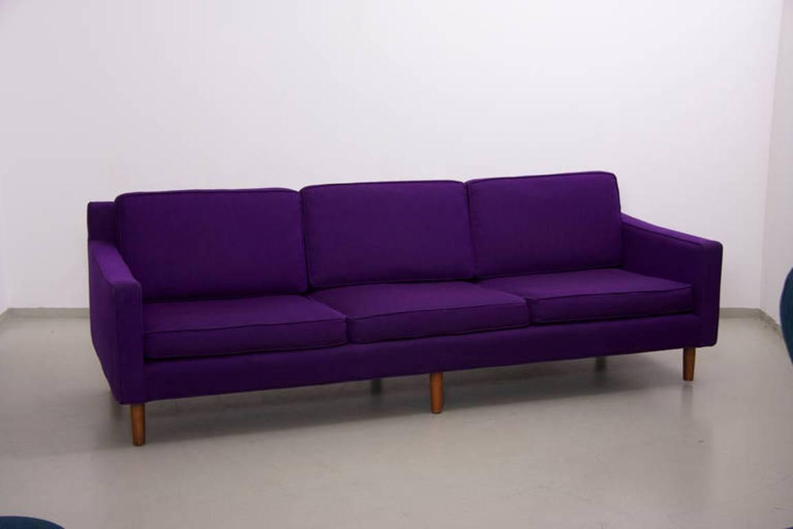 purple sofas for sale claremore sofa ashley mid century modern by harvey probber in wool