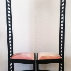 Charles Rennie Mackintosh Willow Chair Wicker Rocking Pier One Hill House Chairs At 1stdibs