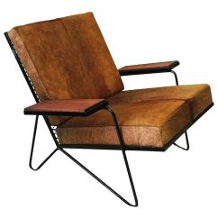 Cowhide Chairs Modern Director Chair Covers In Stores Sculptural Iron And Lounge After Raoul Guys