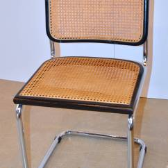 Cesca Chair Replacement Seats Uk Hammock Stand Adjustable Iconic Marcel Breuer Chairs In Black At 1stdibs