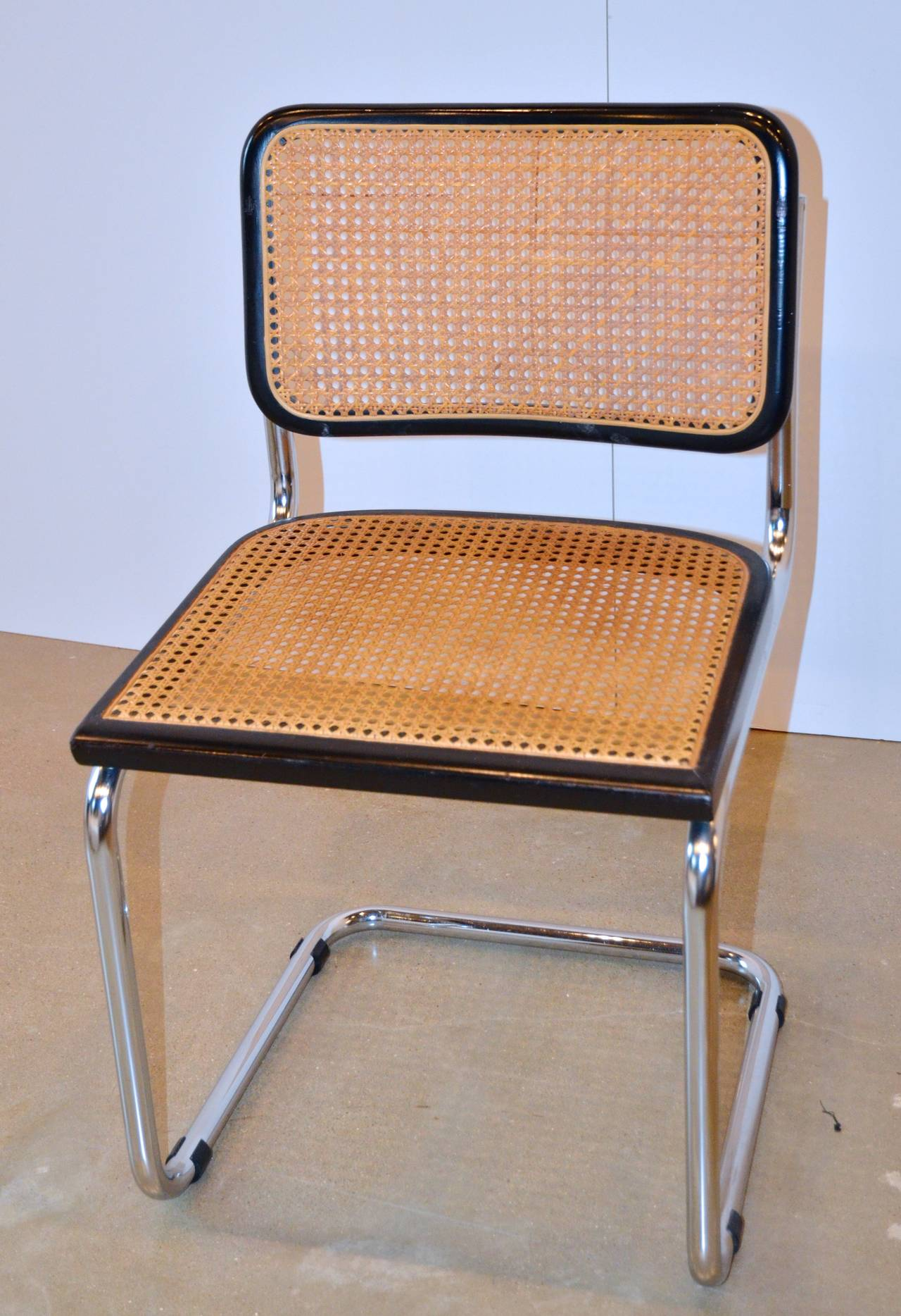 marcel breuer chair covers for wedding walmart iconic cesca chairs in black at 1stdibs
