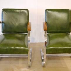 Howell Sofa Emerald Green Velvet Uk Quotspringer Quot Chairs By Wolfgang Hoffmann Circa 1938 At 1stdibs