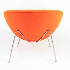 Orange Slice Chair Antique Dining Chairs Vintage F437 By Pierre Paulin For