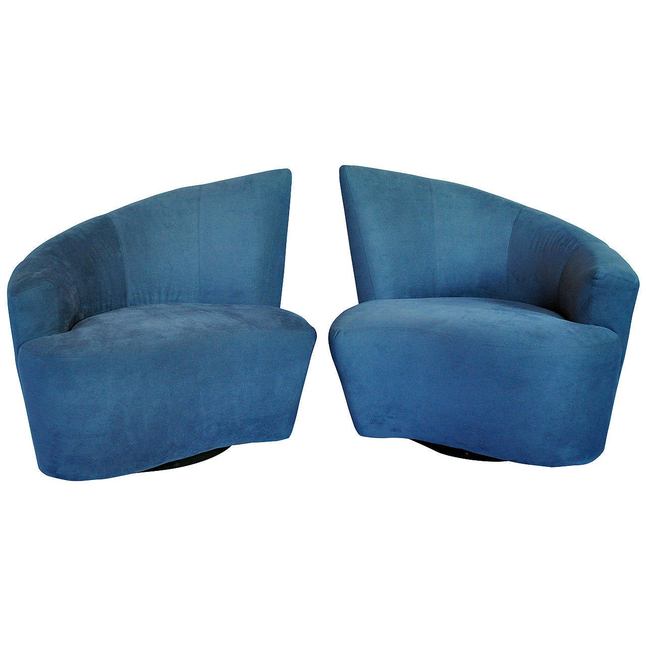 swivel lounge chairs amazon stretch chair covers vladimir kagan bilbao for weiman