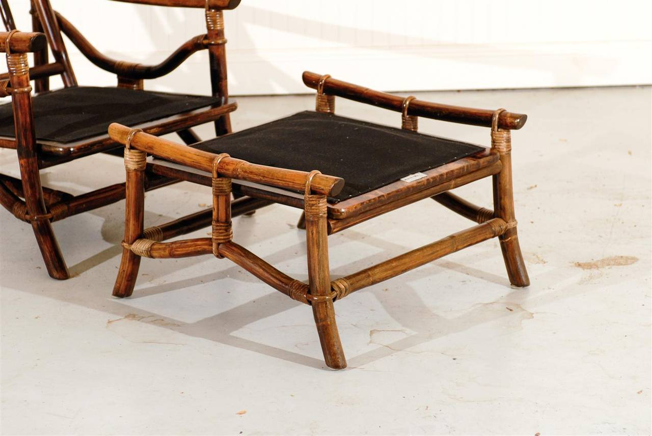 ficks reed chair desk massager superb pair of vintage rattan lounge chairs