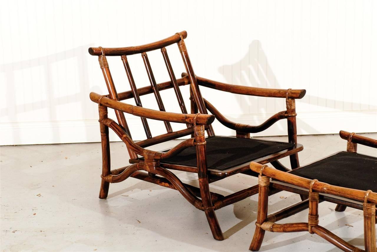 ficks reed chair walmart big joe chairs superb pair of vintage rattan lounge