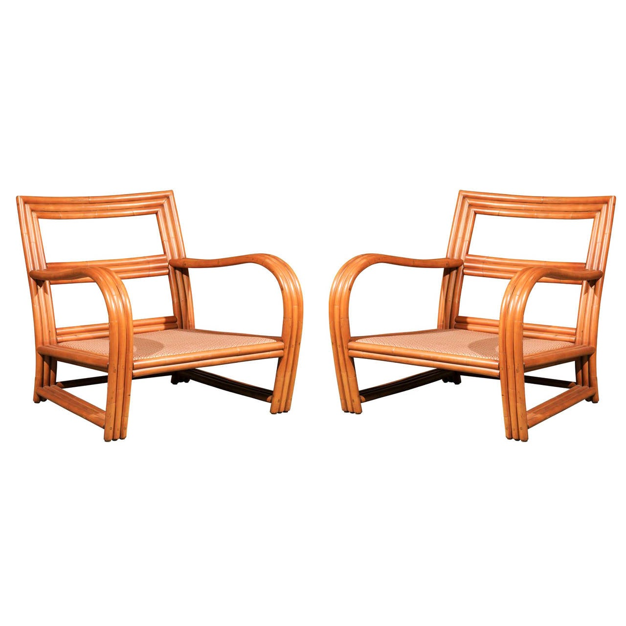 ficks reed chair velvet dining covers pair of vintage rattan club chairs in the style