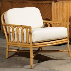 Ficks Reed Chair Hon Volt Task Reviews Decorative Pair Of Vintage Rattan Lounge Chairs By